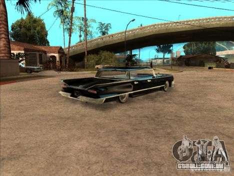 Buick Santiago para GTA San Andreas vista traseira