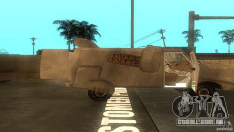 Dumb and Dumber Van para GTA San Andreas vista direita