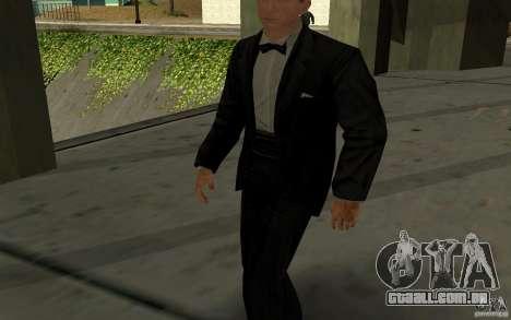 Agente 007 para GTA San Andreas segunda tela