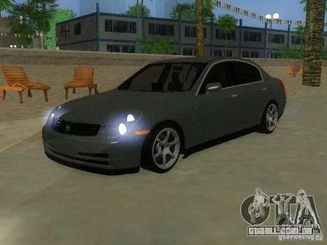 Nissan Skyline 300 GT para GTA San Andreas