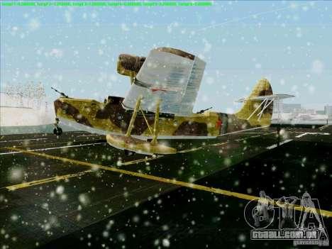 MBR-2 para GTA San Andreas esquerda vista