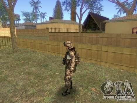 Blackburn de BF3 para GTA San Andreas terceira tela
