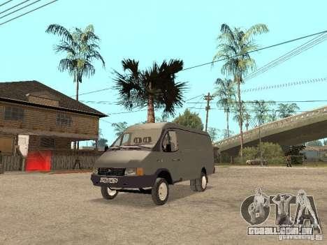 Gazela 2705 em 1994. para GTA San Andreas esquerda vista