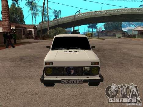 VAZ 2131 para GTA San Andreas esquerda vista