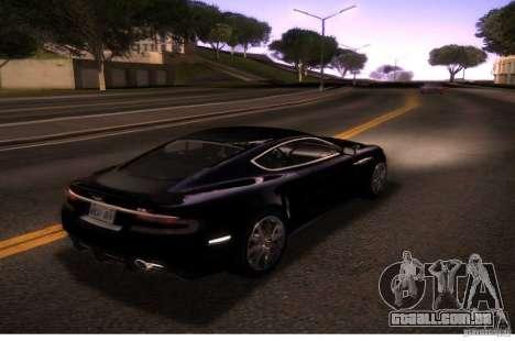 Graphic settings para GTA San Andreas segunda tela