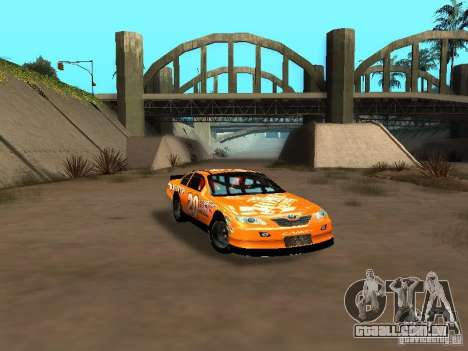Toyota Camry Nascar Edition para GTA San Andreas vista interior