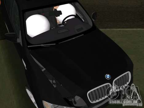 BMW X6M para GTA Vice City vista lateral