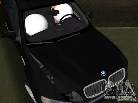 BMW X6M para GTA Vice City vista lateral