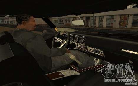 Buick GSX 1970 para GTA San Andreas vista traseira