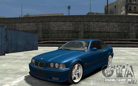 BMW M3 E36 v1.0 para GTA 4 esquerda vista