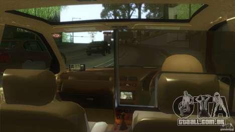 Nissan Cefiro A32 Kouki Japanese PoliceCar para GTA San Andreas traseira esquerda vista