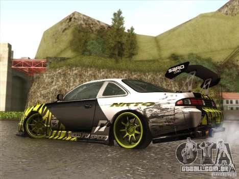 Nissan 200SX S14A para vista lateral GTA San Andreas