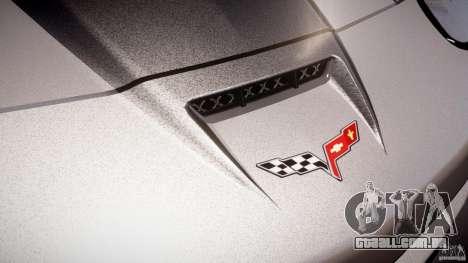 Chevrolet Corvette ZR1 2009 v1.2 para GTA 4 motor
