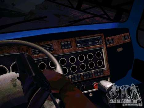 Kenworth T600 para GTA San Andreas vista direita