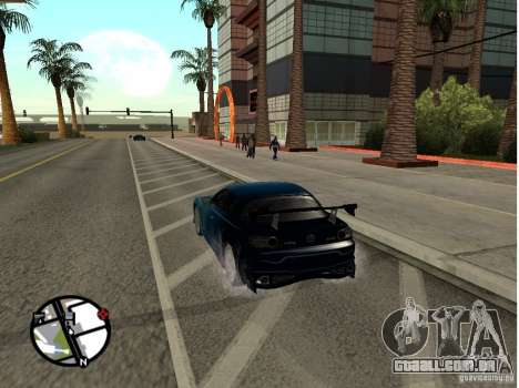 Mazda RX8 para vista lateral GTA San Andreas