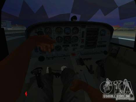 CT-4E Trainer para GTA San Andreas vista traseira