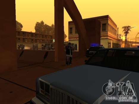 Pack Ballas Soldiaz Families V.2 para GTA San Andreas quinto tela