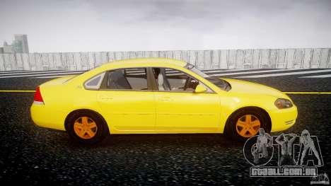 Chevrolet Impala 9C1 2012 para GTA 4 vista interior