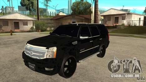 Cadillac Escalade Unique Autosport para GTA San Andreas