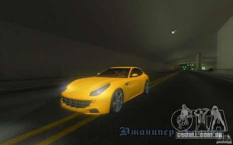 Ferrari FF para vista lateral GTA San Andreas