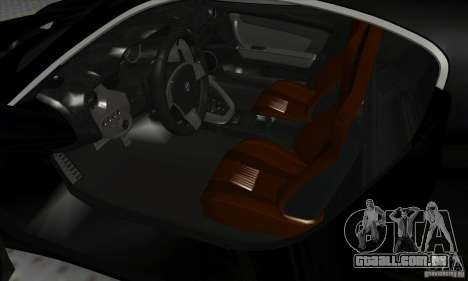 Alfa Romeo 8C Competizione para GTA San Andreas vista traseira