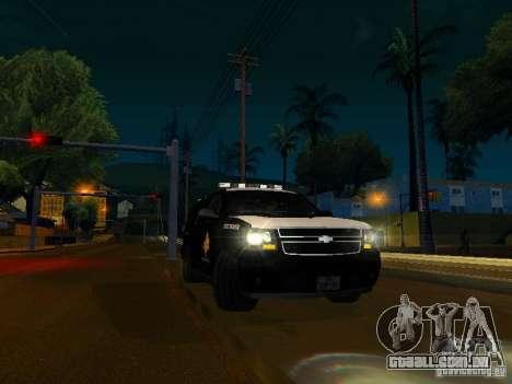 Chevrolet Tahoe Texas Highway Patrol para GTA San Andreas