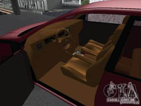 Toyota Corolla Sedan para GTA San Andreas vista direita
