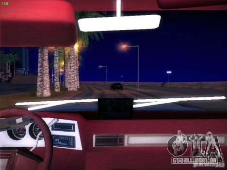 Chevrolet 350 1986 para GTA San Andreas traseira esquerda vista