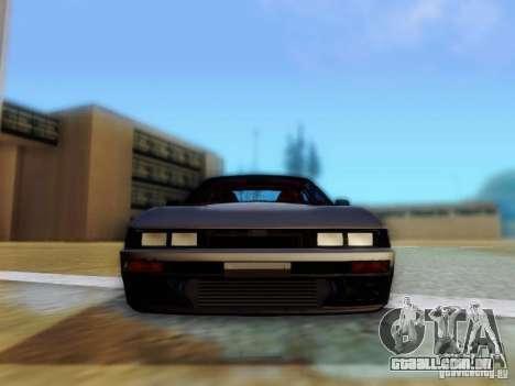 Nissan S13 - Touge para GTA San Andreas vista traseira