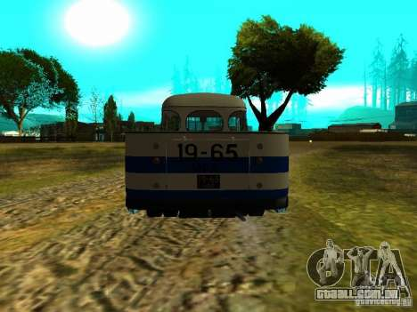 SULCO 672.60 ao ar livre para GTA San Andreas vista direita