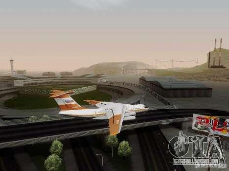 Ilyushin Il-76td para GTA San Andreas esquerda vista
