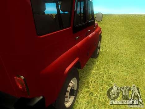 UAZ 315148 para GTA San Andreas vista interior