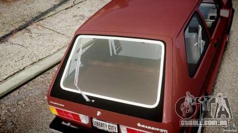 Volkswagen Rabbit 1986 para GTA 4 vista lateral