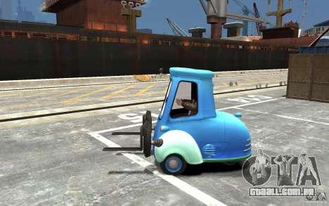 Guido de carros Mater-National para GTA 4 esquerda vista
