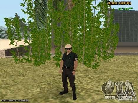 SAPD skins para GTA San Andreas quinto tela