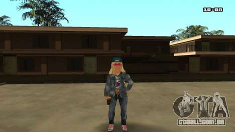 Skin Pack The Rifa para GTA San Andreas décimo tela