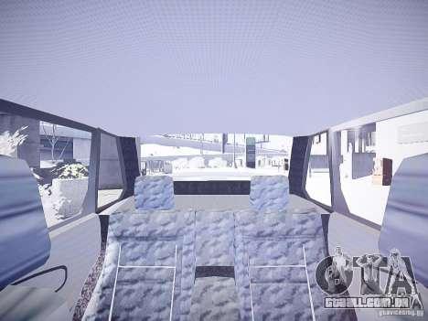 DPS VAZ 2115 para GTA 4 vista interior