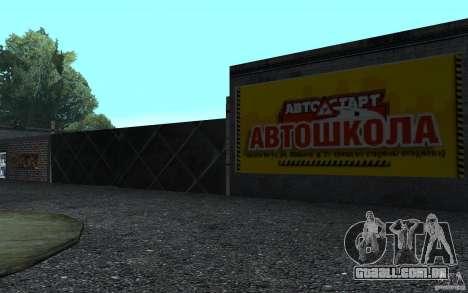 Uma nova escola de condução em San Fierro para GTA San Andreas segunda tela