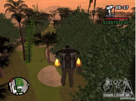 Project Oblivion 2007 para GTA San Andreas por diante tela