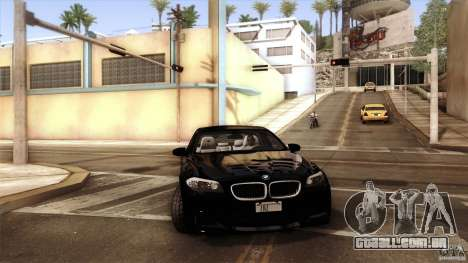 BMW M5 F10 2012 para o motor de GTA San Andreas
