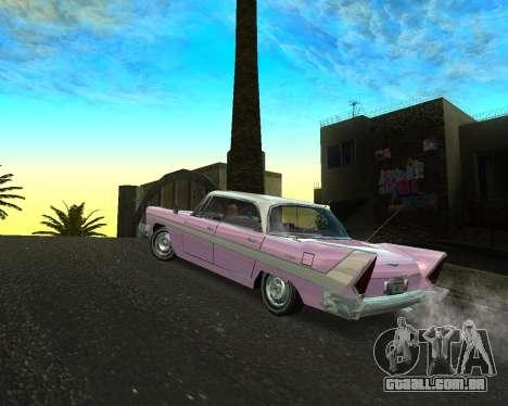 Plymouth Belvedere para GTA San Andreas esquerda vista
