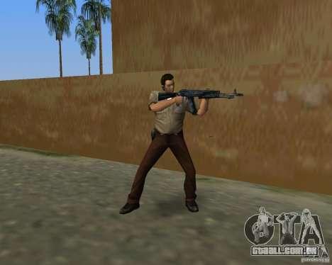 Armas de Pak de STALKER para GTA Vice City nono tela