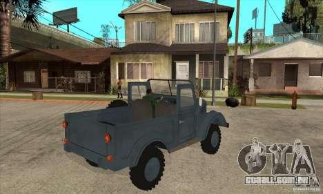 ARO Simple para GTA San Andreas vista direita