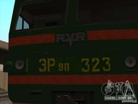 Er9p-323 para GTA San Andreas vista direita