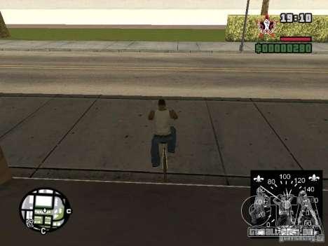 Velocímetro novo para GTA San Andreas sexta tela