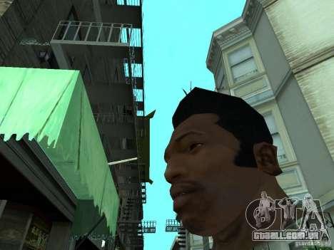 A NOVA CARA DO CJ para GTA San Andreas por diante tela