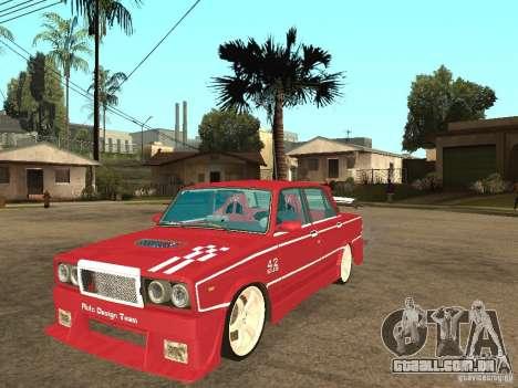 VAZ 2107 Sparky para GTA San Andreas