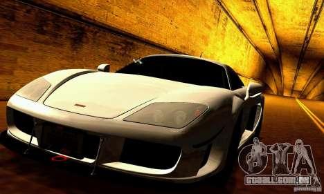 Noble M600 para GTA San Andreas vista inferior