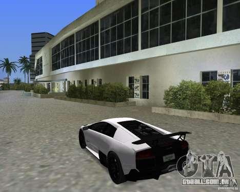 Lamborghini Murcielago LP670-4 SV para GTA Vice City vista direita
