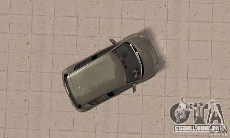Suzuki Swift Tuning para GTA San Andreas vista direita